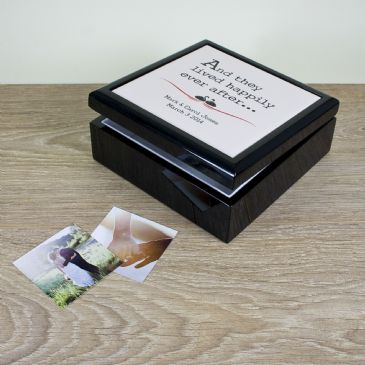 Fairytale Couple Keepsake Box